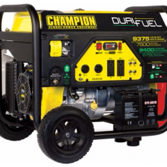 Champion Dual-Fuel Generators 9375W