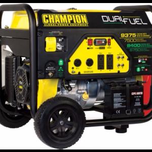 Champion Dual-Fuel Generators 9375W