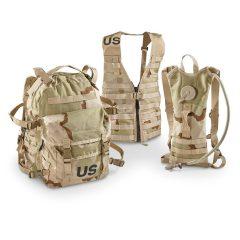 U.S. Military Surplus Rifleman's Set, MOLLE Compatible, 15 Pieces, New