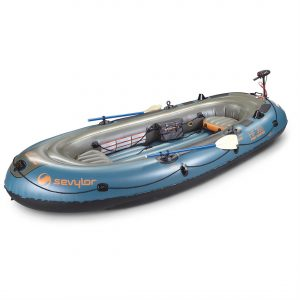 Sevylor Fish Hunter Inflatable Boat Kit