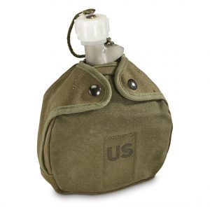 U.S. Military Surplus Arctic Canteen with Cover