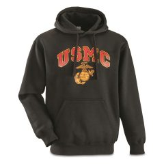 USMC Military Surplus Hooded Sweatshirt