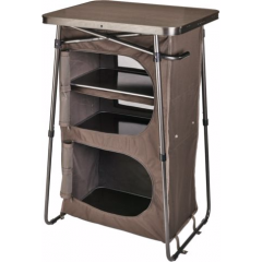 Cabela's Dual-Height Three-Shelf Camp Cupboard