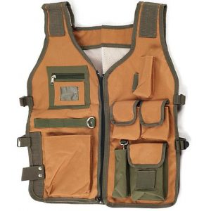 Nylon 7-Pocket Vest with Adjustable Straps